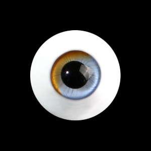 16MM S-GLASS EYES-NO.040